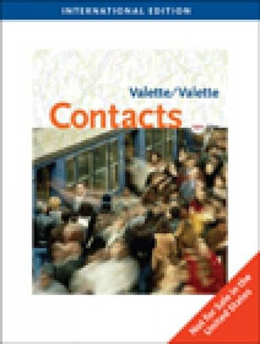 9781439083277: Contacts: Langue et Culture Francaises (Eighth Edition)