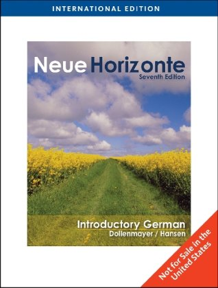 9781439083390: Neue Horizonte (Seventh Edition)