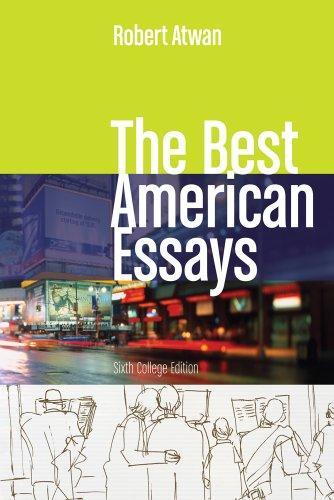 best american essays century atwan Robert atwan: the best american essays: as i worked on the first volume of the best american essays from the fall of the american essay in the american century).