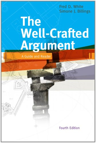 9781439084083: The Well-Crafted Argument