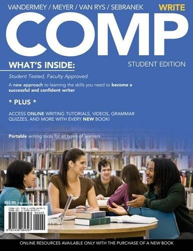 9781439084397: COMP: Write (with English CourseMate with eBook Printed Access Card)