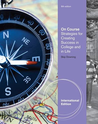 9781439085219: On Course- Study Skills Plus Edition - Text (11) by Downing, Skip [Paperback (2010)]