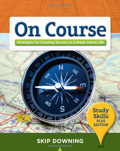 9781439085226: On Course, Study Skills Plus Edition (Textbook-specific CSFI)