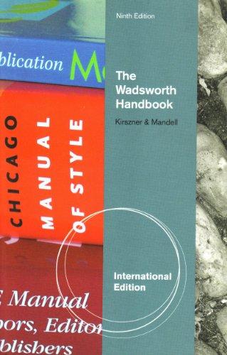 9781439085509: The Wadsworth Handbook