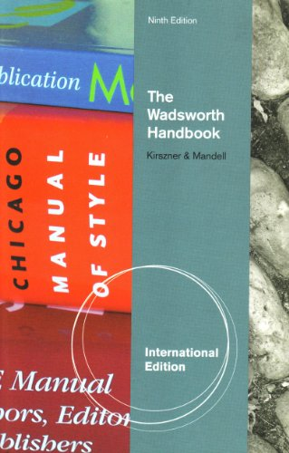 9781439085509: Wadsworth Handbook