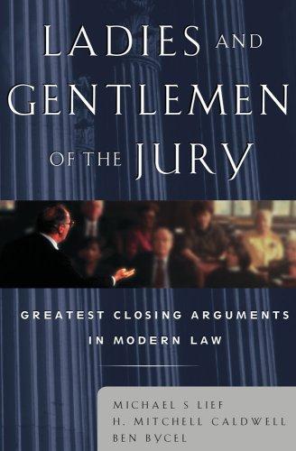 Ladies and Gentlemen of the Jury: Michael Lief