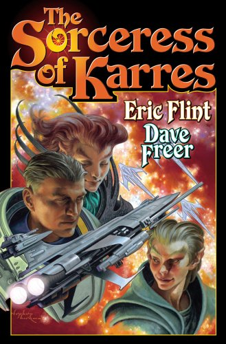The Sorceress of Karres (1439133077) by Flint, Eric; Freer, Dave