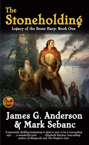 9781439133491: The Stoneholding: Legacy of the Stone Harp, Book I