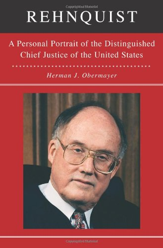 9781439140826: Rehnquist: A Personal Portrait of the Distinguished Chief Justice of the United States