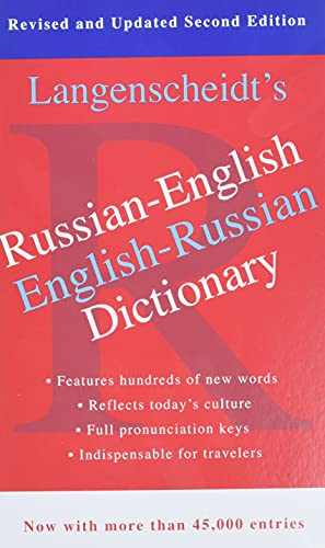 Langenscheidt's Russian-English Dictionary (Paperback or Softback): Langenscheidt