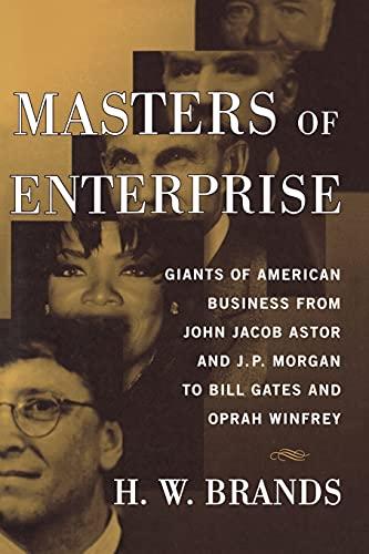 9781439144015: Masters of Enterprise