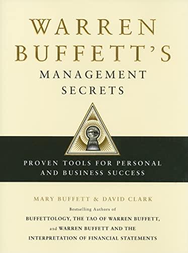 9781439149379: Warren Buffett's Management Secrets: Proven Tools for Personal and Business Success