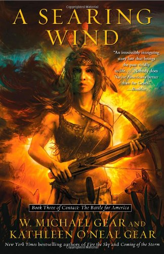 9781439153901: A Searing Wind: Book Three of Contact: The Battle for America