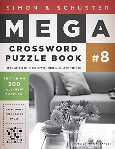 9781439158098: Simon & Schuster Mega Crossword Puzzle Book #8