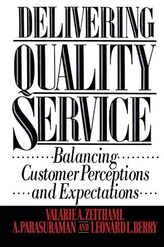9781439167281: Delivering Quality Service