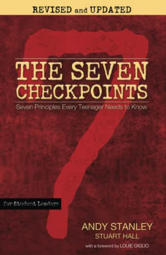 9781439189337: The Seven Checkpoints for Student Leaders: Seven Principles Every Teenager Needs to Know