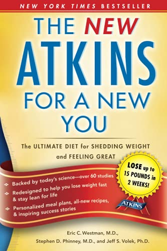 9781439190272: New Atkins for a New You: The Ultimate Diet for Shedding Weight and Feeling Great.