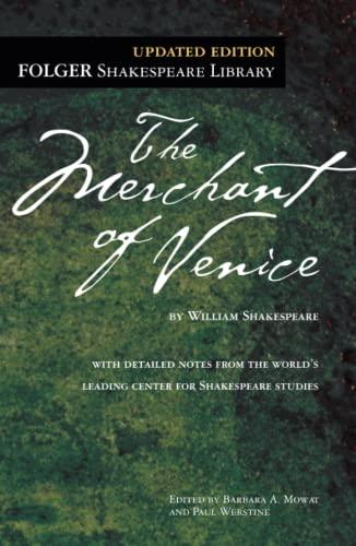 9781439191163: The Merchant of Venice (Folger Shakespeare Library)