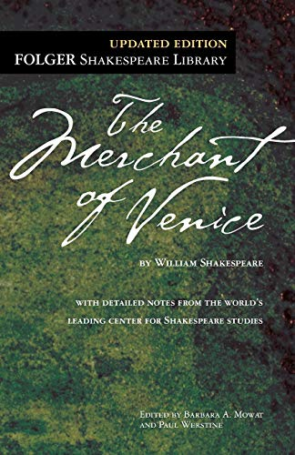 9781439191163: The Merchant of Venice (Folger Shakespeare Library)
