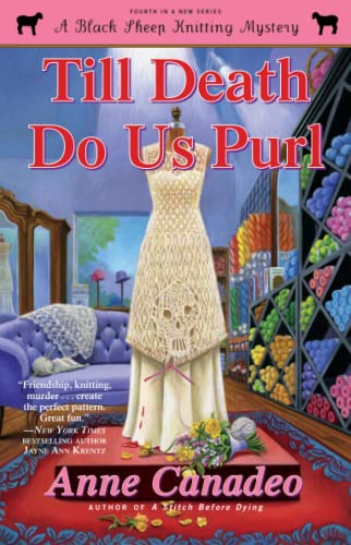Till Death Do Us Purl (Brand New Unread Copy) Advance Uncorrected Proof
