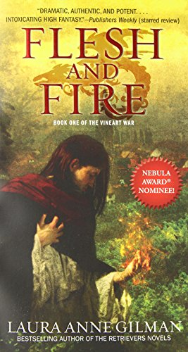 9781439191545: Flesh and Fire: Book One of The Vineart War