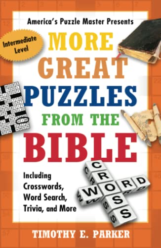 9781439192283: More Great Puzzles from the Bible: Including Crosswords, Word Search, Trivia, and More, Intermediate