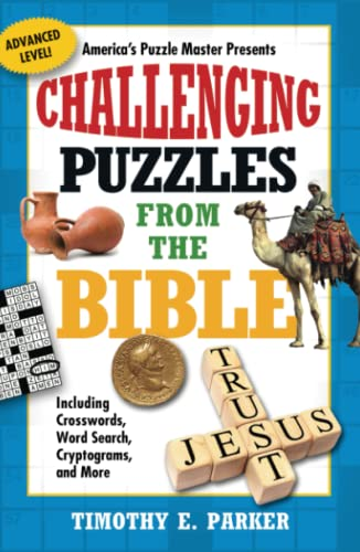 9781439192290: Challenging Puzzles from the Bible: Including Crosswords, Word Search, Cryptograms, and More