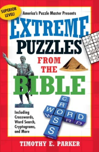 9781439192306: Extreme Puzzles from the Bible: Including Crosswords, Word Search, Cryptograms, and More (Superior)