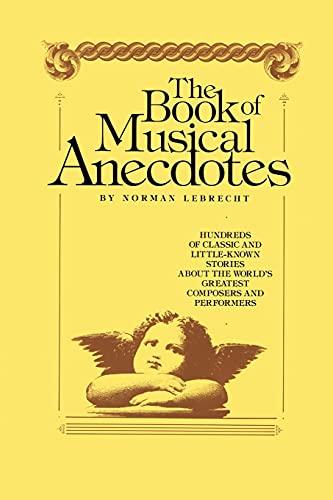 9781439199947: Book of Musical Anecdotes