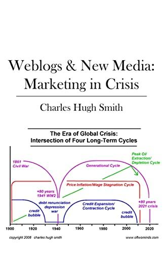 9781439201107: Weblogs & New Media: Marketing in Crisis