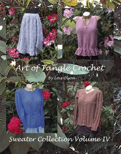 9781439207536: Art of Tangle Crochet (Sweater Collection)