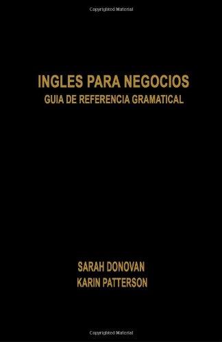 9781439221693: Ingles para Negocios: Guia De Referencia Gramatical