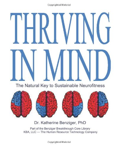 9781439228333: Thriving in Mind: The Natural Key to Sustainable Neurofitness