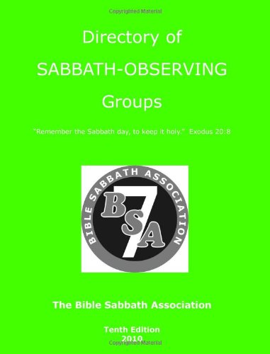 Directory of Sabbath-Observing Groups: Nickels, Shirley; Parada, Barbara