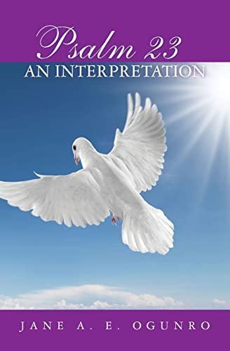 9781439264362: Psalm 23: An Interpretation