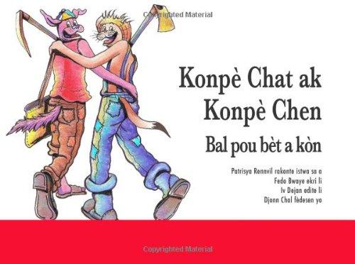 9781439269831: Konpè chat ak Konpè chen - Bal pou bèt a kòn (Haitian Edition)