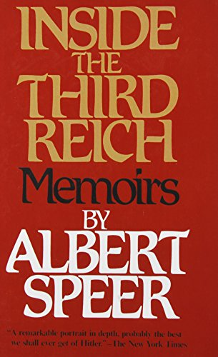 9781439502129: Inside the Third Reich: Memoirs