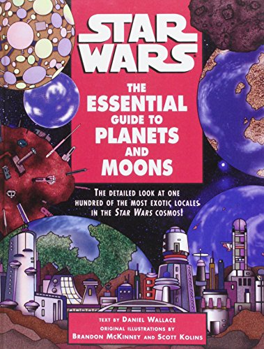 9781439503348: Star Wars: The Essential Guide to Planets and Moons
