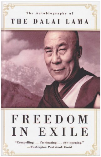 Freedom in Exile: The Autobiography of the Dalai Lama (143950847X) by Dalai Lama XIV