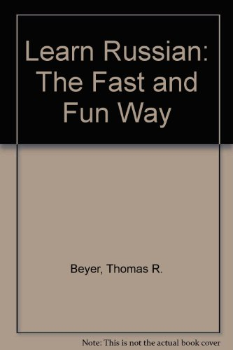 9781439509128: Learn Russian: The Fast and Fun Way