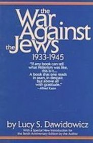 9781439512401: The War Against the Jews: 19331945