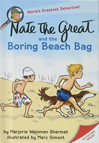 9781439548967: Nate the Great and the Boring Beach Bag