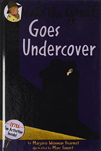 Nate the Great Goes Undercover: Sharmat, Marjorie Weinman