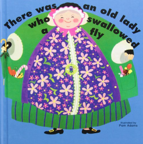 9781439553190: There Was an Old Lady Who Swallowed a Fly (Books with Holes)
