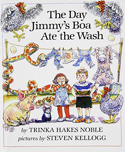 The Day Jimmy's Boa Ate the Wash (Picture Puffins) (1439555354) by Trinka Hakes Noble