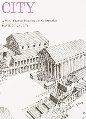 9781439579008: City: A Story of Roman Planning and Construction
