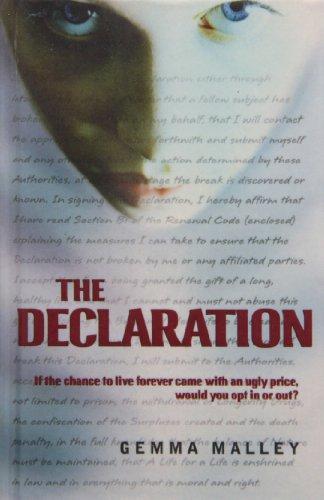9781439583753: The Declaration