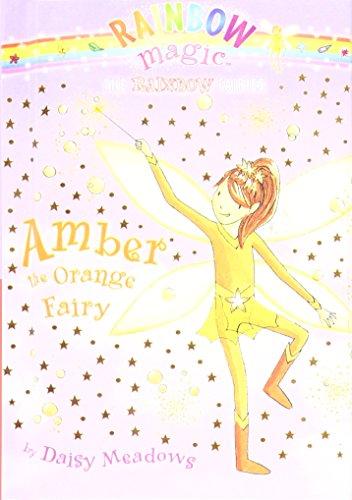 Amber the Orange Fairy (Rainbow Magic): Meadows, Daisy