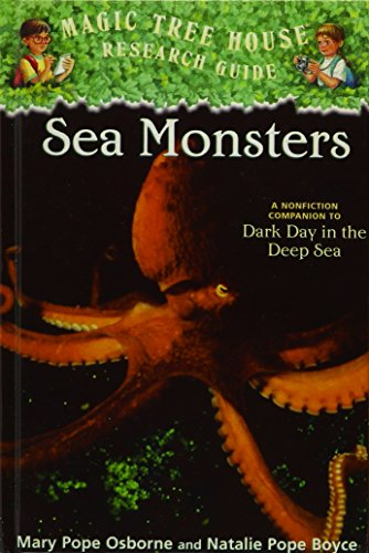 9781439589830: Sea Monsters (Magic Tree House Research Guide)