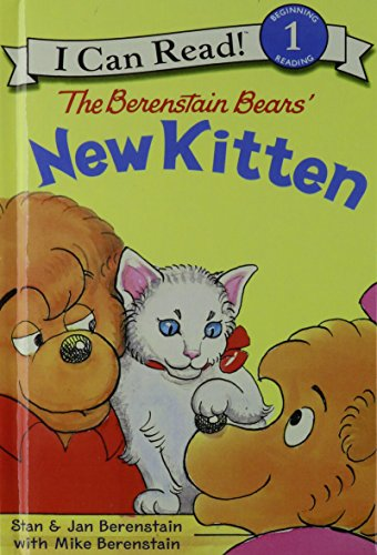 9781439593516: The Berenstain Bears' New Kitten (I Can Read. Level 1)